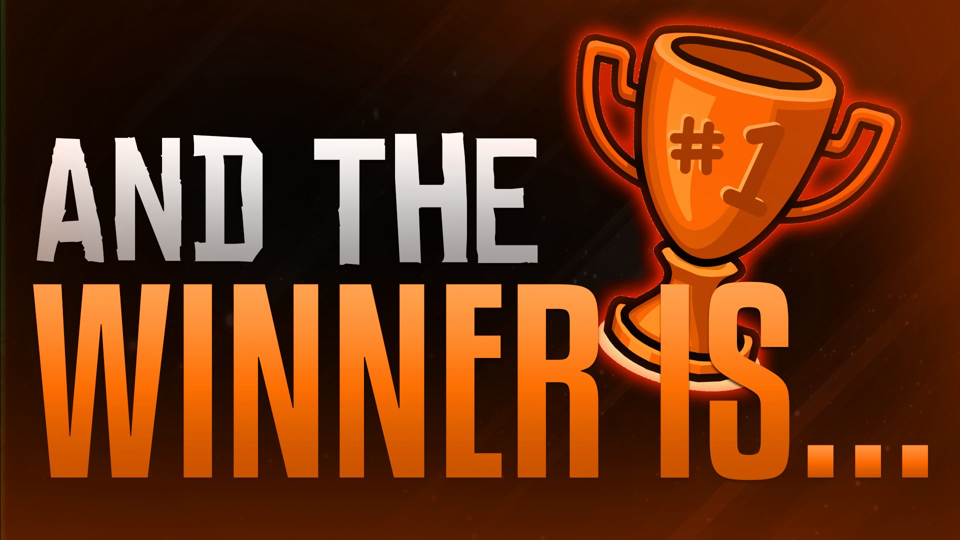 And the winner is … – e-Veritas